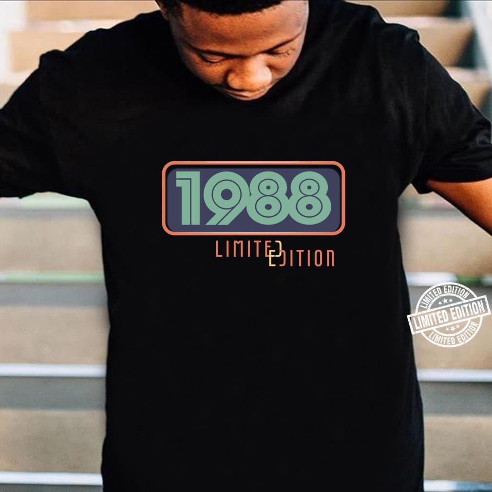 33rd Birthday Man 33 Years Bday Year 1988 Shirt