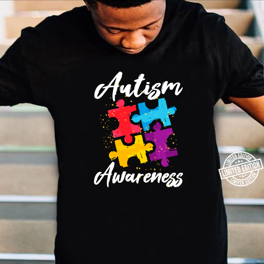 AutismusBewusstsein für Autismus Mutter Vater Frauen Männer Shirt