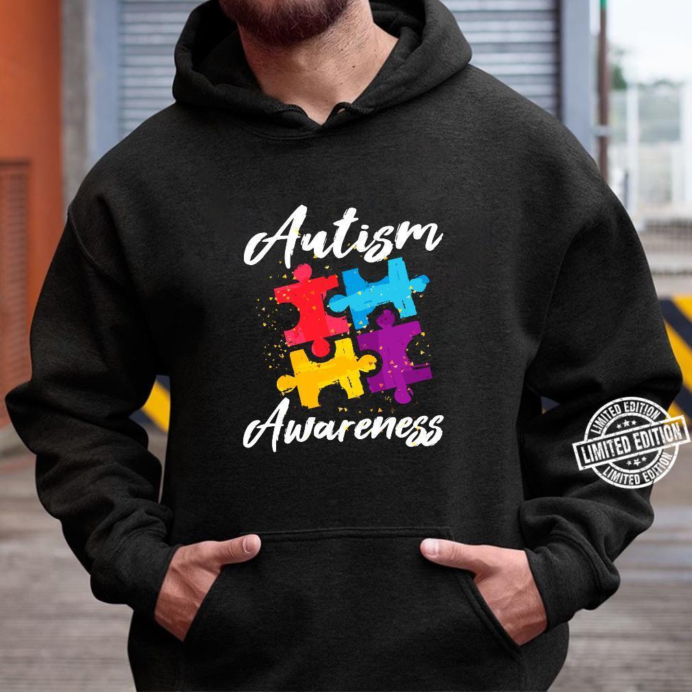 AutismusBewusstsein für Autismus Mutter Vater Frauen Männer Shirt hoodie