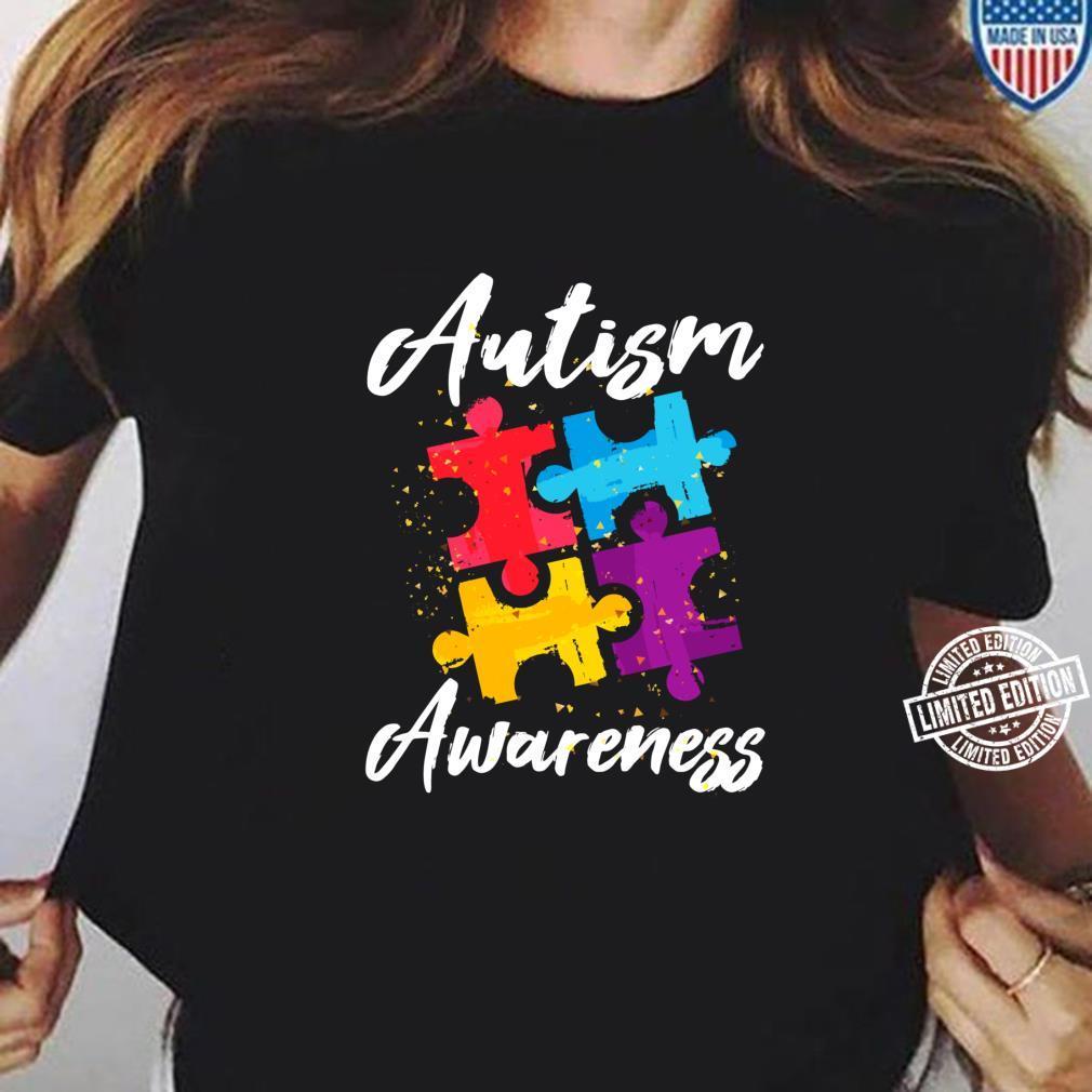 AutismusBewusstsein für Autismus Mutter Vater Frauen Männer Shirt ladies tee