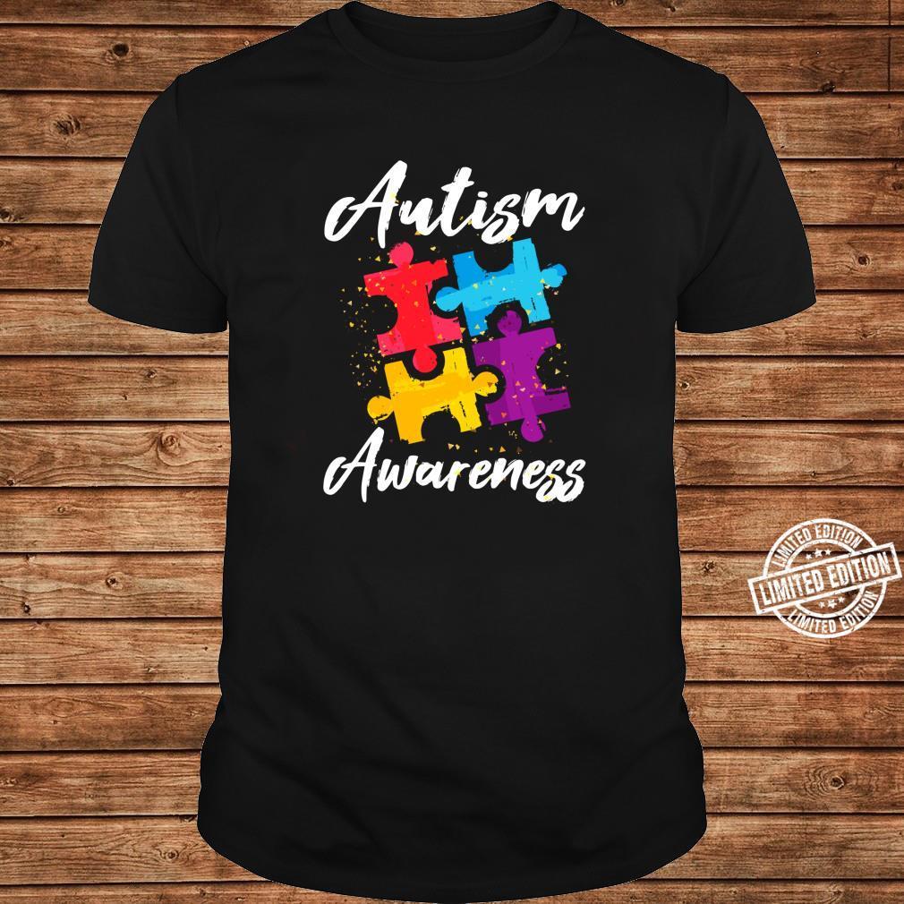 AutismusBewusstsein für Autismus Mutter Vater Frauen Männer Shirt long sleeved
