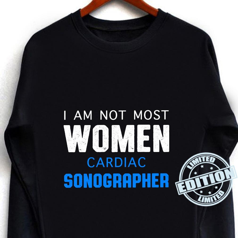 Cardiac Sonographer Echo Tech RDCS Shirt long sleeved