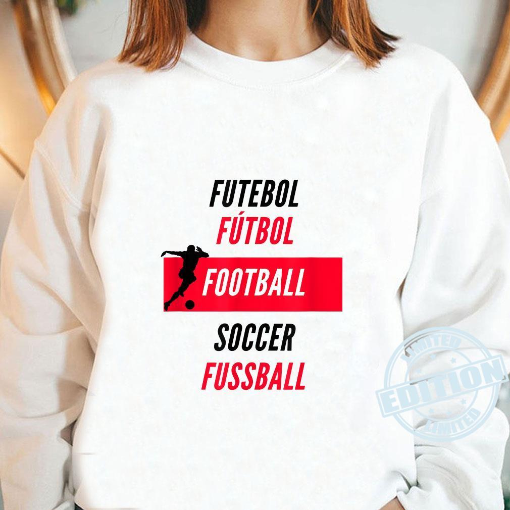 Football International Shirt long sleeved