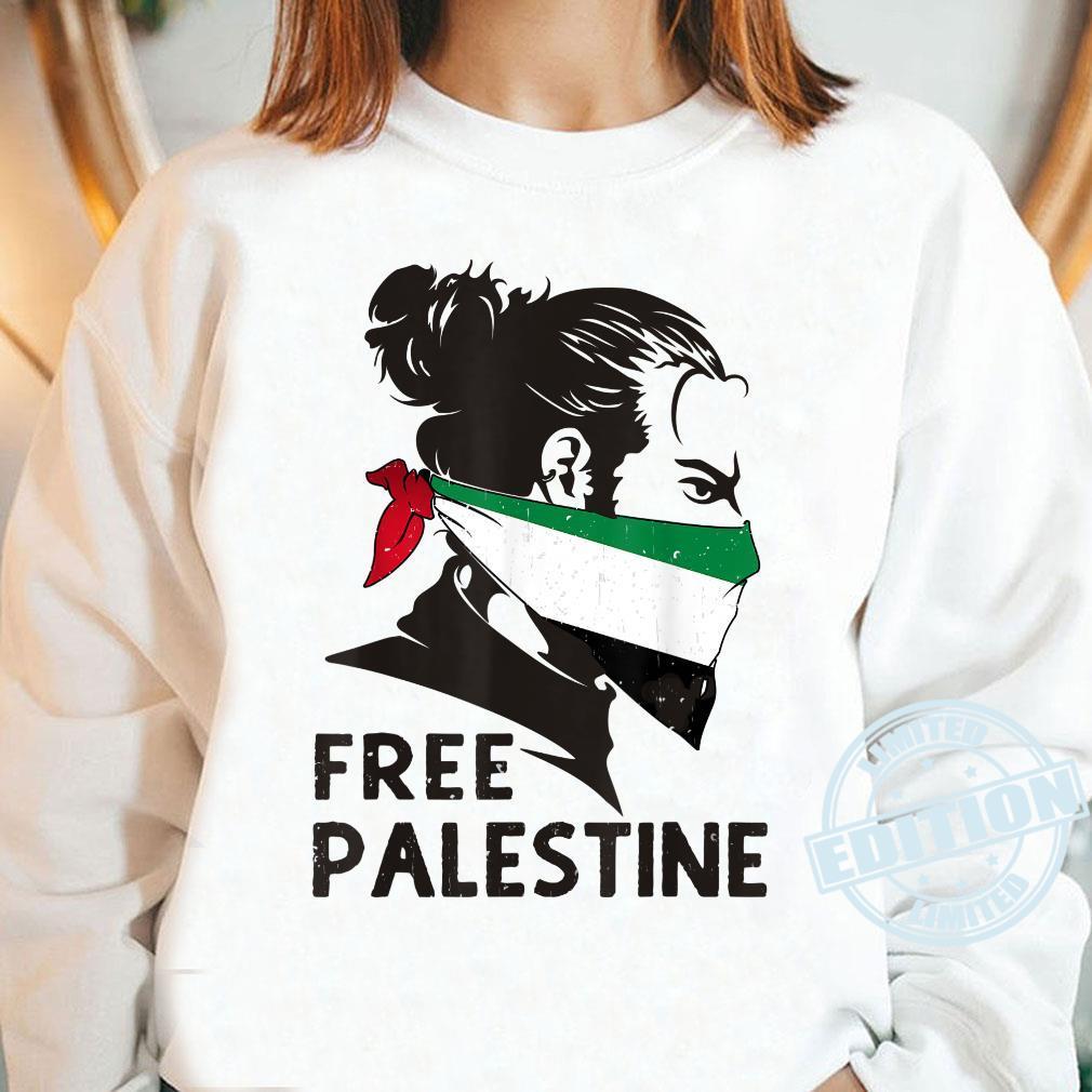 Free Palestine Flag Save Gaza Strip End Occupation Shirt long sleeved