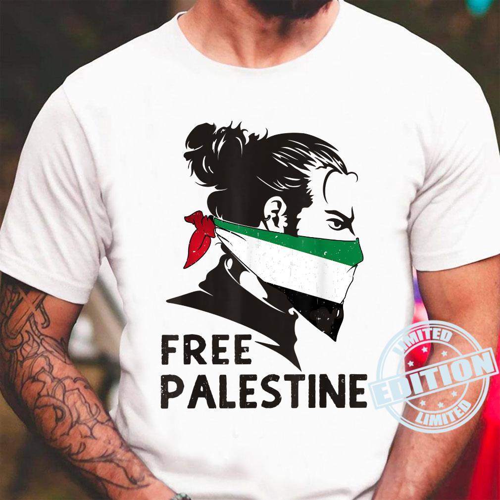 Free Palestine Flag Save Gaza Strip End Occupation Shirt