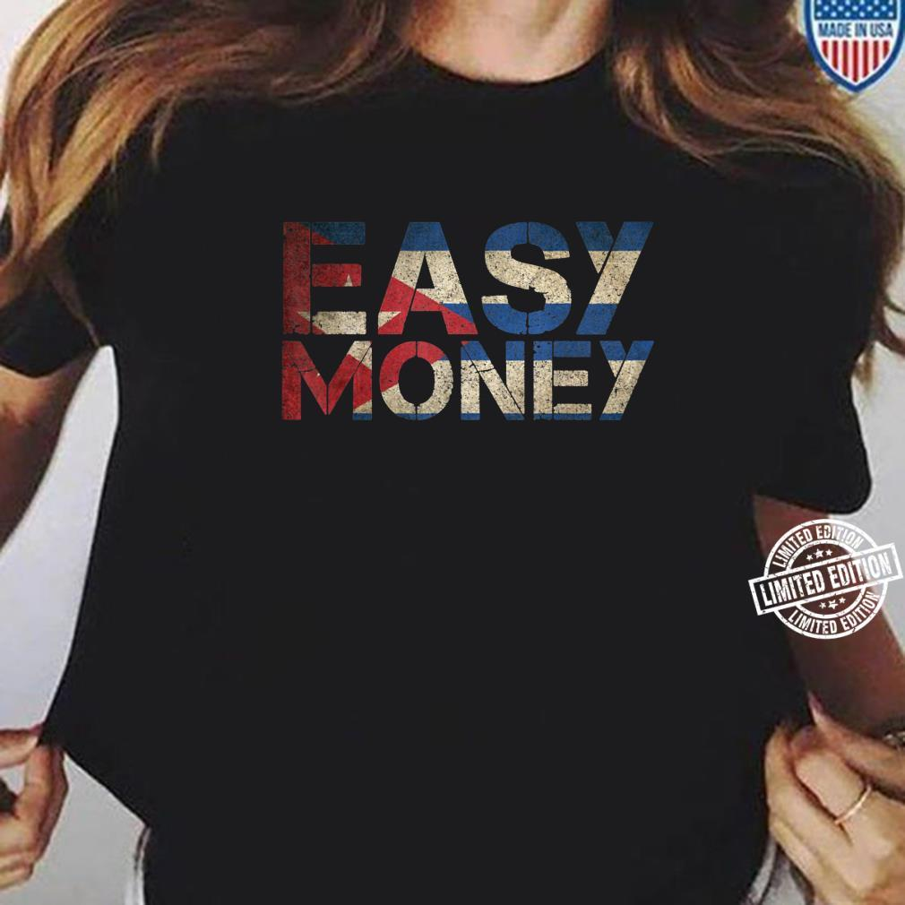 Gamebred MMA Fighter Shirt Easy Money 3 Piece Soda Shirt ladies tee