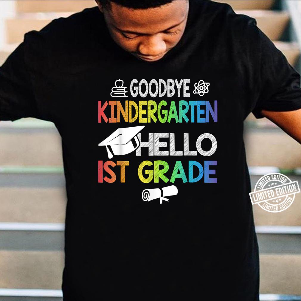 Kindergarten Hello 1st Grade Graduating Class of 2021 Shirt