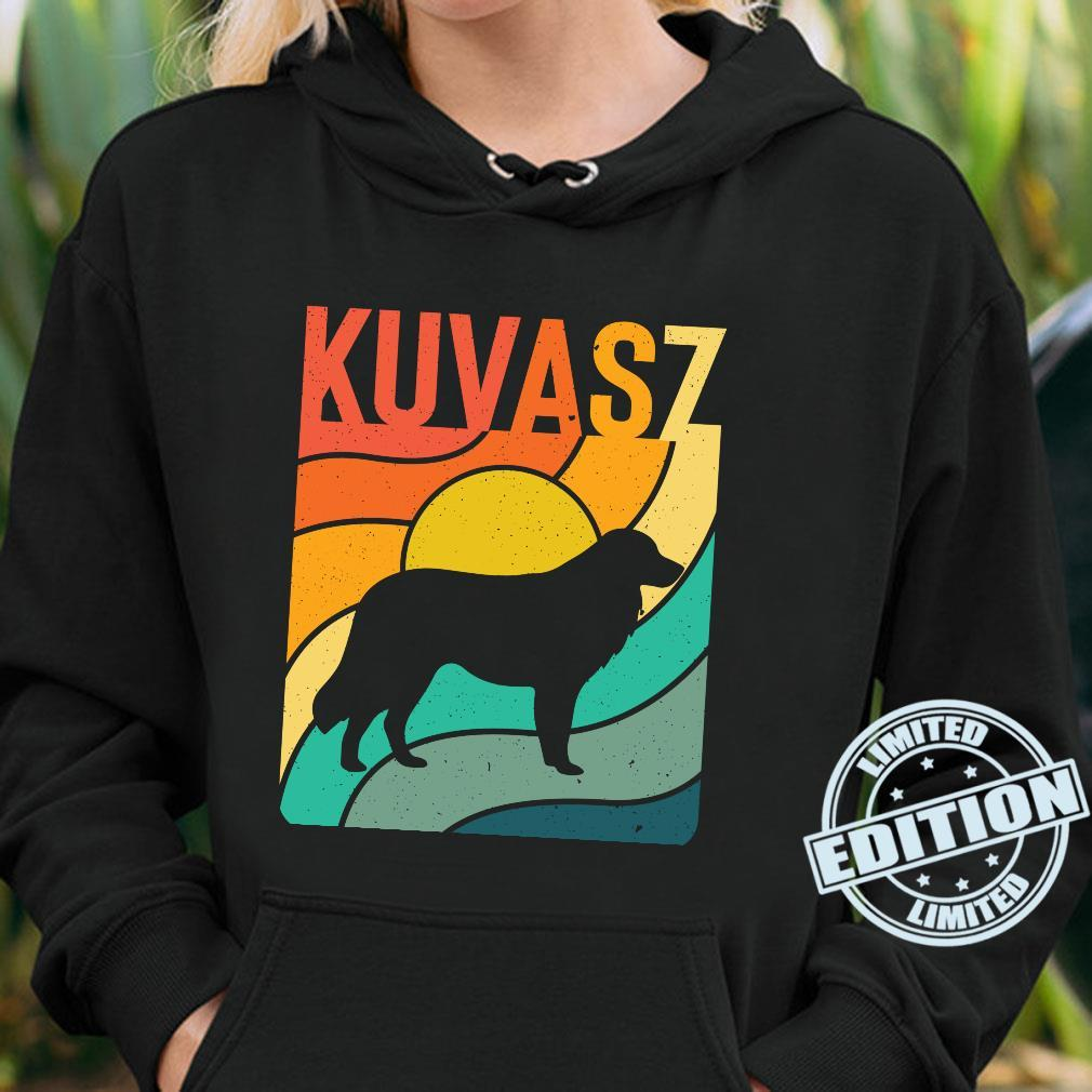 Kuvasz Vintages Retro HundemammaVatiGeschenk Langarmshirt Shirt hoodie