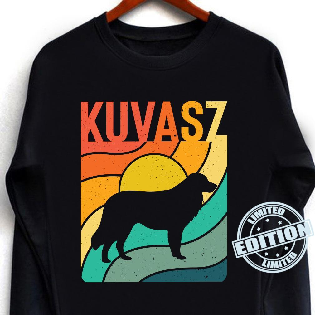 Kuvasz Vintages Retro HundemammaVatiGeschenk Langarmshirt Shirt long sleeved