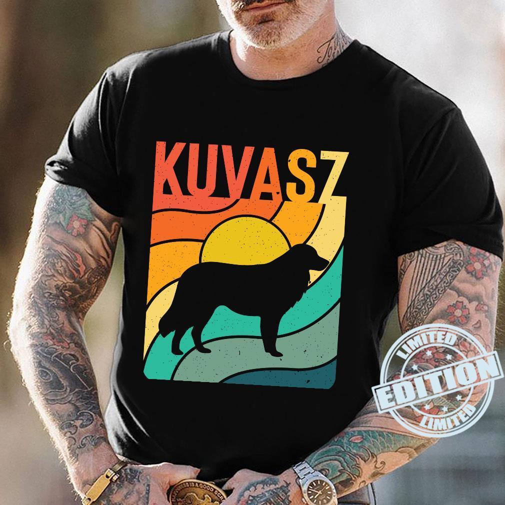 Kuvasz Vintages Retro HundemammaVatiGeschenk Langarmshirt Shirt