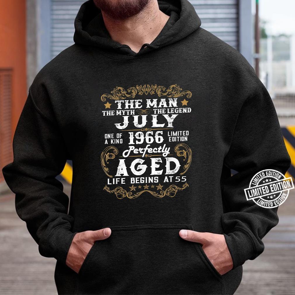 Legends Were Born In July 1966 55th Quarantine Birthday Shirt hoodie