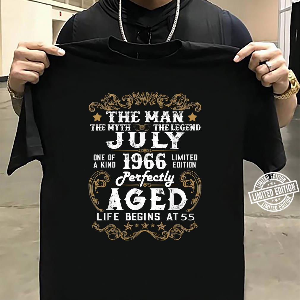 Legends Were Born In July 1966 55th Quarantine Birthday Shirt sweater