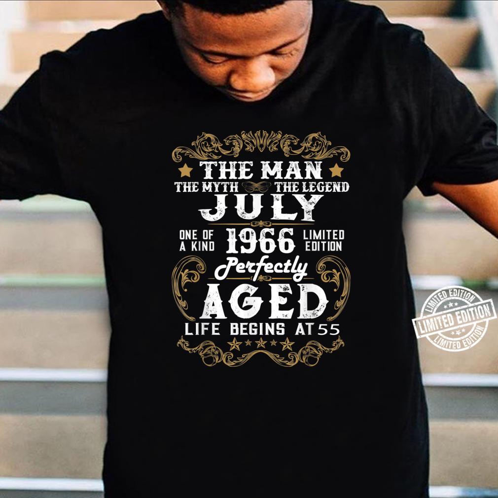 Legends Were Born In July 1966 55th Quarantine Birthday Shirt