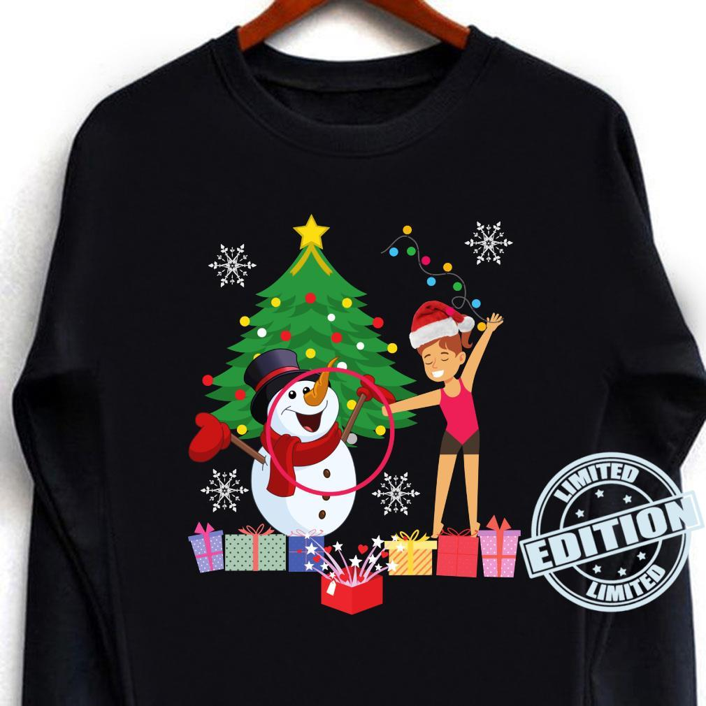 Rhythmic Gymnastics Christmas Shirt long sleeved