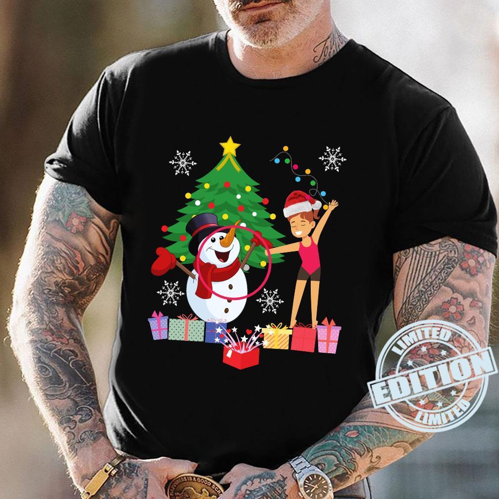 Rhythmic Gymnastics Christmas Shirt