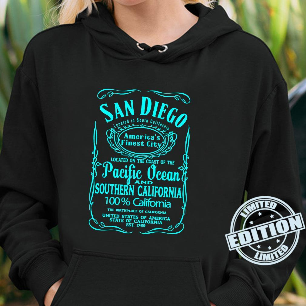 San Diego California USA United States Surfer Beach Sun Fun Shirt hoodie