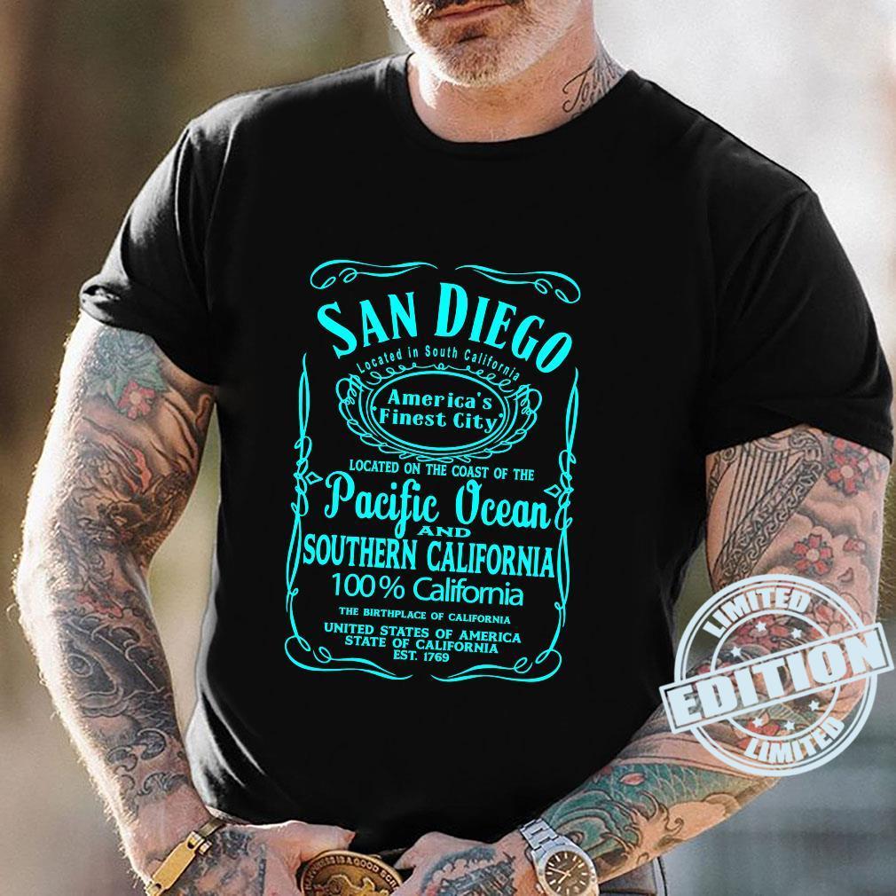San Diego California USA United States Surfer Beach Sun Fun Shirt