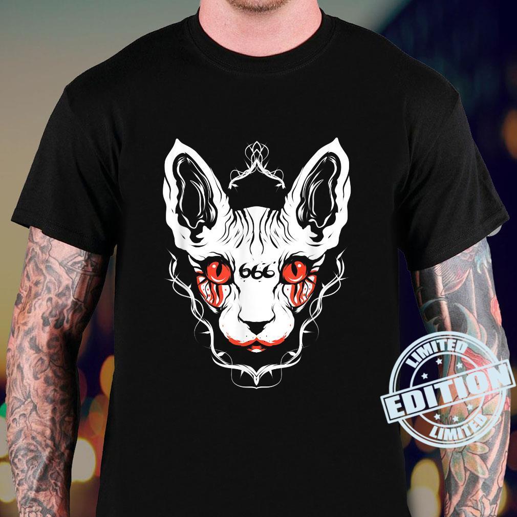 Sphynx Cat Goth Death Metal Occult Pet Shirt sweater